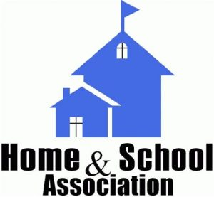 Home & School Association with House Icon